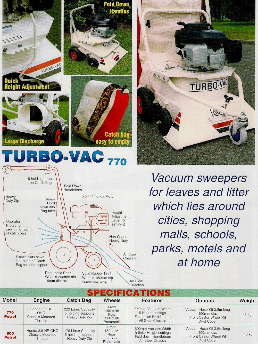 Turbovac 600 & 770