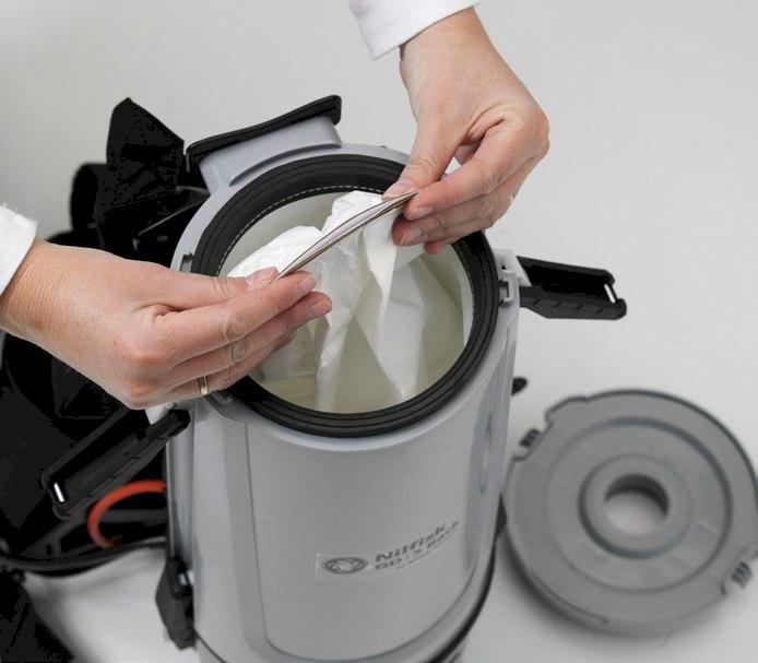 Nilfisk GD5 backpack vacuum