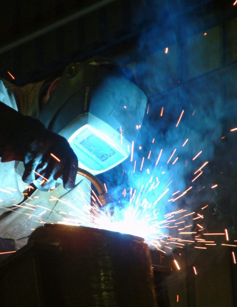 Welding Fume Removal (Extraction) by FumeVac