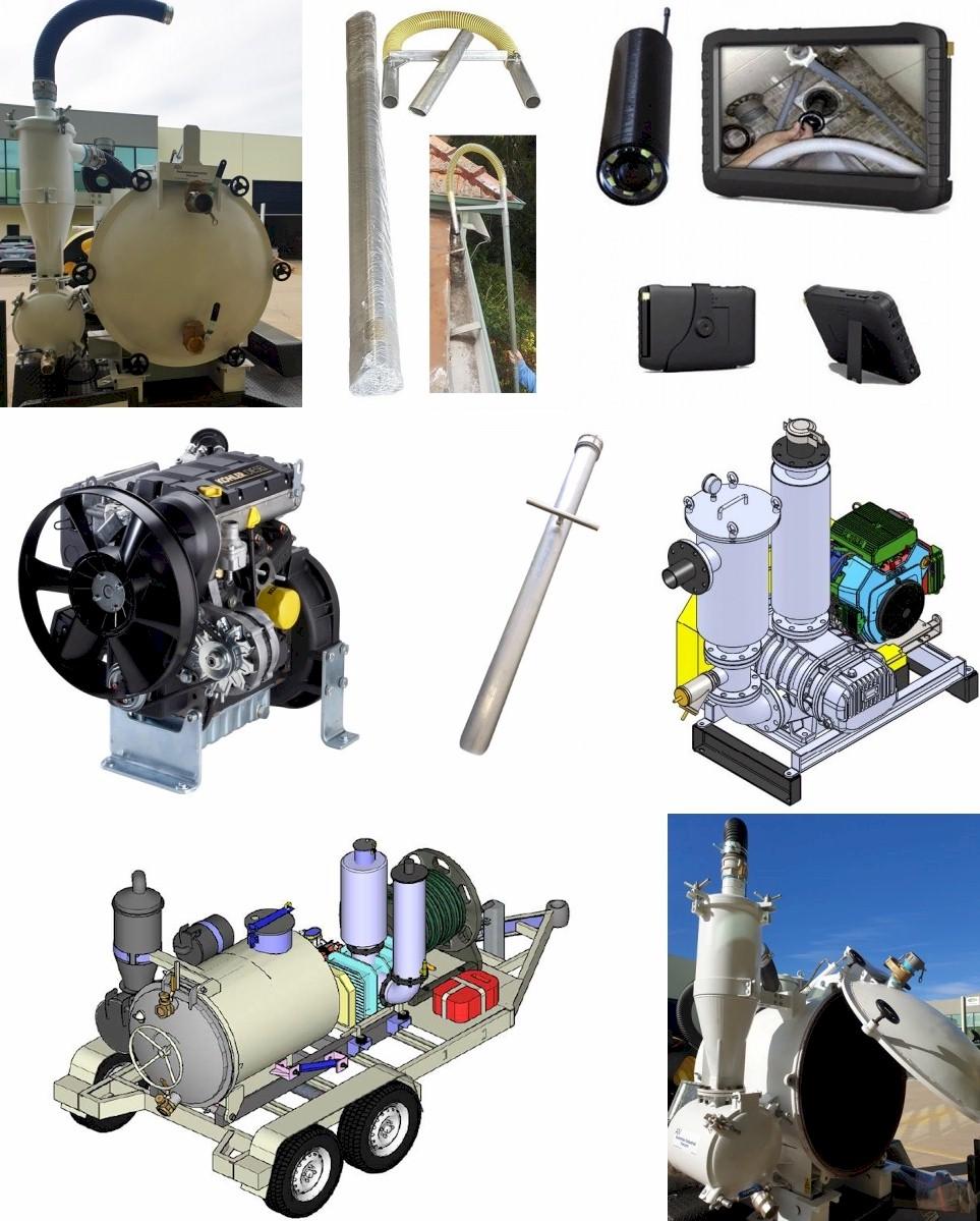 Vacuum Recovery Units