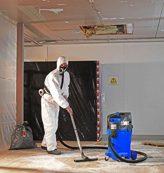 Asbestos removal vacuums available from spv.nz