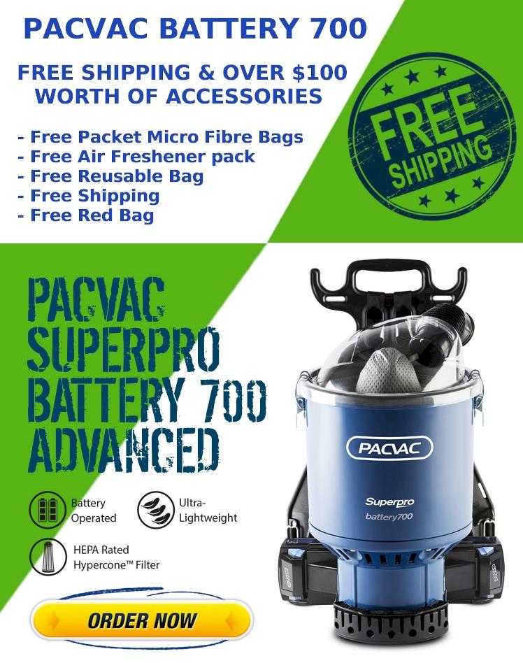Pacvac Battery 700 Advanced